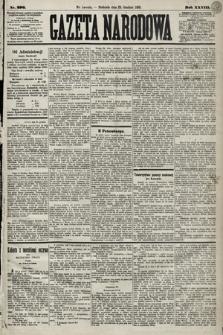 Gazeta Narodowa. 1889, nr296