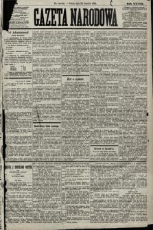 Gazeta Narodowa. 1889, nr299
