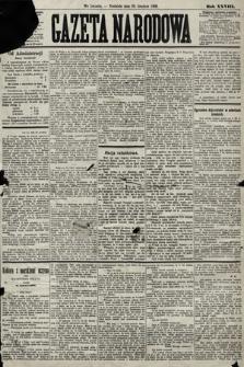 Gazeta Narodowa. 1889, nr300
