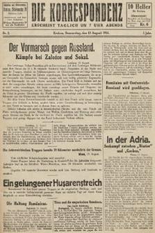 Die Korrespondenz. 1914, nr2