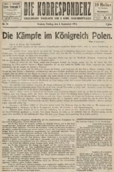 Die Korrespondenz. 1914, nr24
