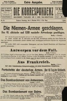 Die Korrespondenz. 1914, nr54