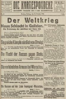 Die Korrespondenz. 1914, nr67