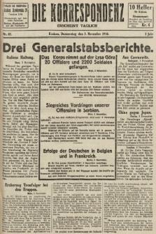 Die Korrespondenz. 1914, nr88