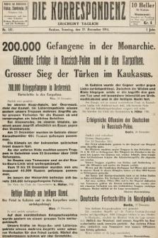 Die Korrespondenz. 1914, nr157