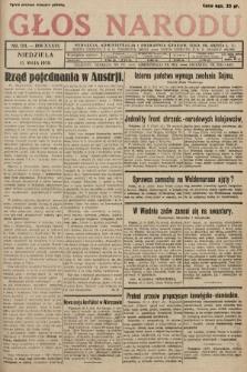 Głos Narodu. 1929, nr 124 [skonfiskowany]