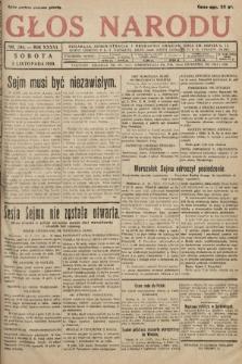 Głos Narodu. 1929, nr 294 [skonfiskowany]