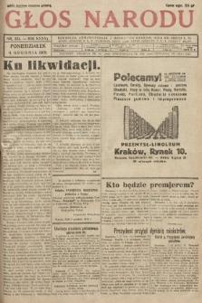 Głos Narodu, 1929, nr 331 [skonfiskowany]
