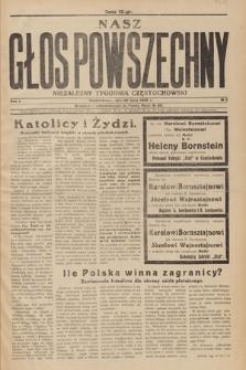 Nasz Głos Powszechny. R.1. 1936, nr 5