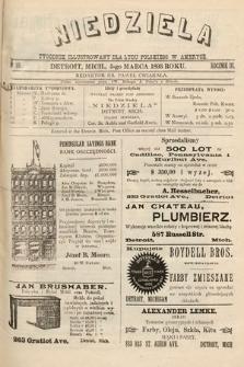 Niedziela : tygodnik ilustrowany dla ludu polskiego w Ameryce. 1893, nr10