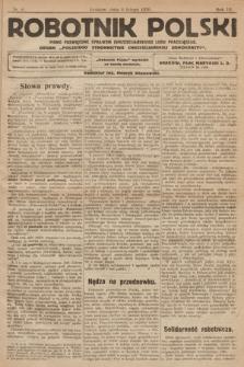 Robotnik Polski : pismo poświęcone sprawom chrześcijańskiego ludu pracującego. R. 3, 1920, nr 6
