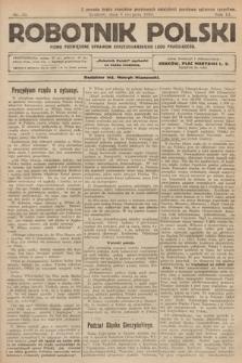 Robotnik Polski : pismo poświęcone sprawom chrześcijańskiego ludu pracującego. R. 3, 1920, nr 30