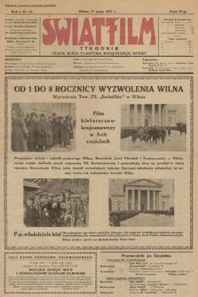 """Światfilm : kino, teatr, plastyka, radjofonja, sport : organ Tow. Filmowego """"Światfilm"""" w Wilnie. R. 1. 1927, nr 12"""