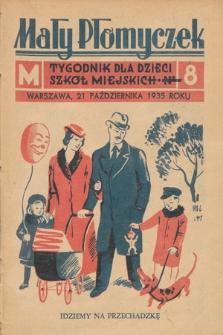 Mały Płomyczek : tygodnik dla dzieci szkół miejskich. 1935-1936, nr8