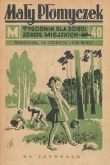 Mały Płomyczek : tygodnik dla dzieci szkół miejskich. 1935-1936, nr40