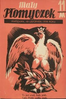 Mały Płomyczek. 1936-1937, nr11