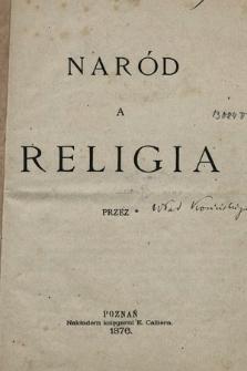 Naród a religia