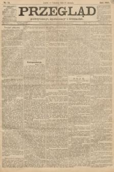 Przegląd polityczny, społeczny i literacki. 1888, nr15