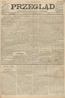 Przegląd polityczny, społeczny i literacki. 1888, nr33