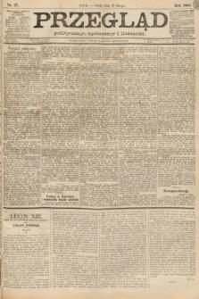 Przegląd polityczny, społeczny i literacki. 1888, nr37