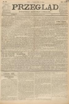 Przegląd polityczny, społeczny i literacki. 1888, nr38