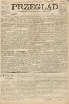Przegląd polityczny, społeczny i literacki. 1888, nr39