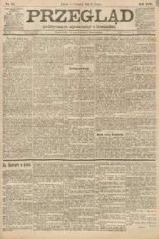 Przegląd polityczny, społeczny i literacki. 1888, nr44