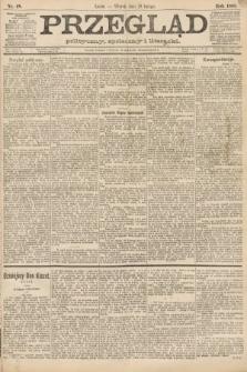 Przegląd polityczny, społeczny i literacki. 1888, nr48
