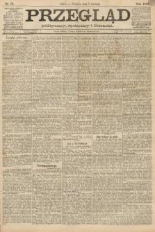 Przegląd polityczny, społeczny i literacki. 1888, nr77