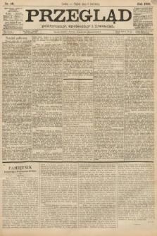 Przegląd polityczny, społeczny i literacki. 1888, nr80