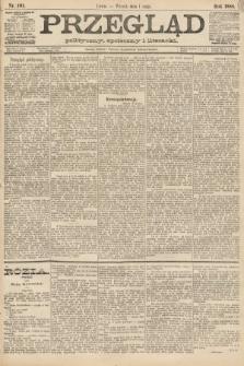 Przegląd polityczny, społeczny i literacki. 1888, nr101