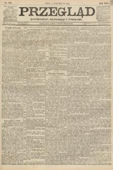 Przegląd polityczny, społeczny i literacki. 1888, nr124