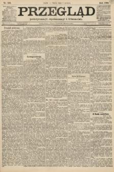 Przegląd polityczny, społeczny i literacki. 1888, nr126