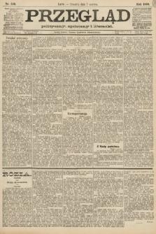 Przegląd polityczny, społeczny i literacki. 1888, nr130