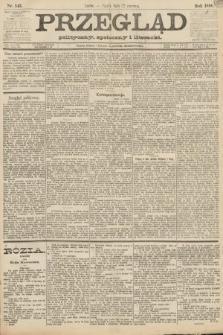 Przegląd polityczny, społeczny i literacki. 1888, nr143