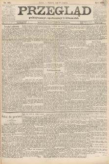 Przegląd polityczny, społeczny i literacki. 1888, nr191