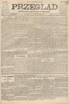 Przegląd polityczny, społeczny i literacki. 1888, nr202