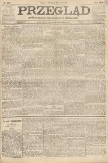 Przegląd polityczny, społeczny i literacki. 1888, nr203