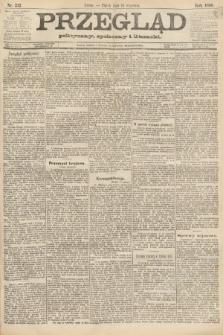 Przegląd polityczny, społeczny i literacki. 1888, nr212