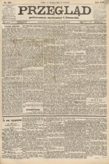 Przegląd polityczny, społeczny i literacki. 1888, nr220