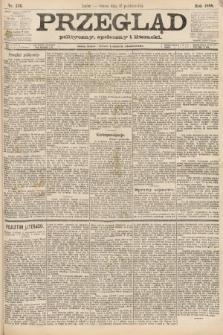 Przegląd polityczny, społeczny i literacki. 1888, nr236