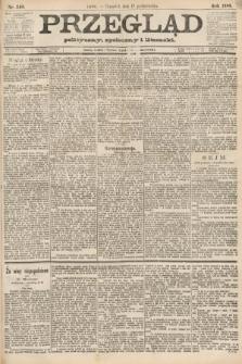 Przegląd polityczny, społeczny i literacki. 1888, nr240