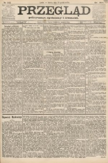 Przegląd polityczny, społeczny i literacki. 1888, nr242