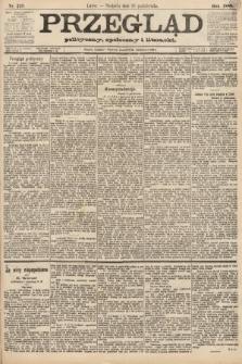 Przegląd polityczny, społeczny i literacki. 1888, nr249