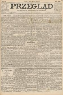 Przegląd polityczny, społeczny i literacki. 1888, nr262