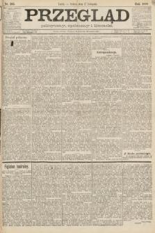 Przegląd polityczny, społeczny i literacki. 1888, nr265