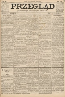 Przegląd polityczny, społeczny i literacki. 1888, nr267