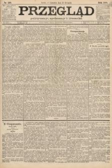 Przegląd polityczny, społeczny i literacki. 1888, nr269