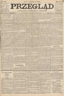 Przegląd polityczny, społeczny i literacki. 1888, nr271
