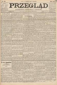 Przegląd polityczny, społeczny i literacki. 1888, nr272